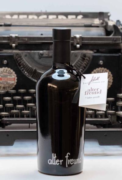Alter Freund, Prädikatswein, Süßwein, wie Portwein, Schilcher, vegan, Wein, Weststeiermark, Schilcherei®, Weingut Jöbstl, Wies - online kaufen