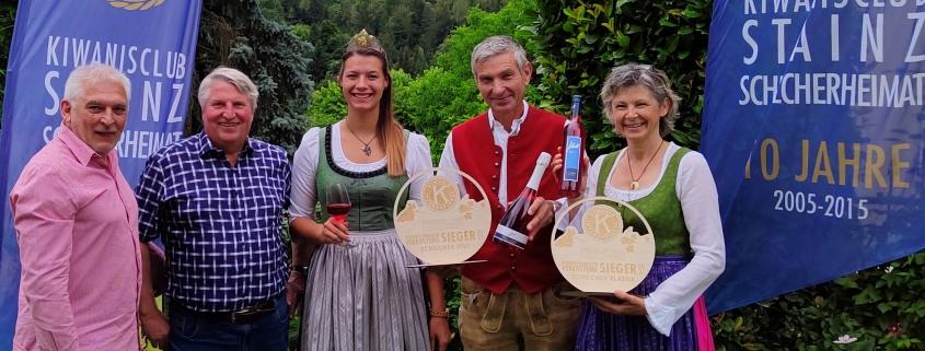 Schilcher Kiwanis 2021 Sieger, Weingut Jöbstl, Wies, Schilcherei